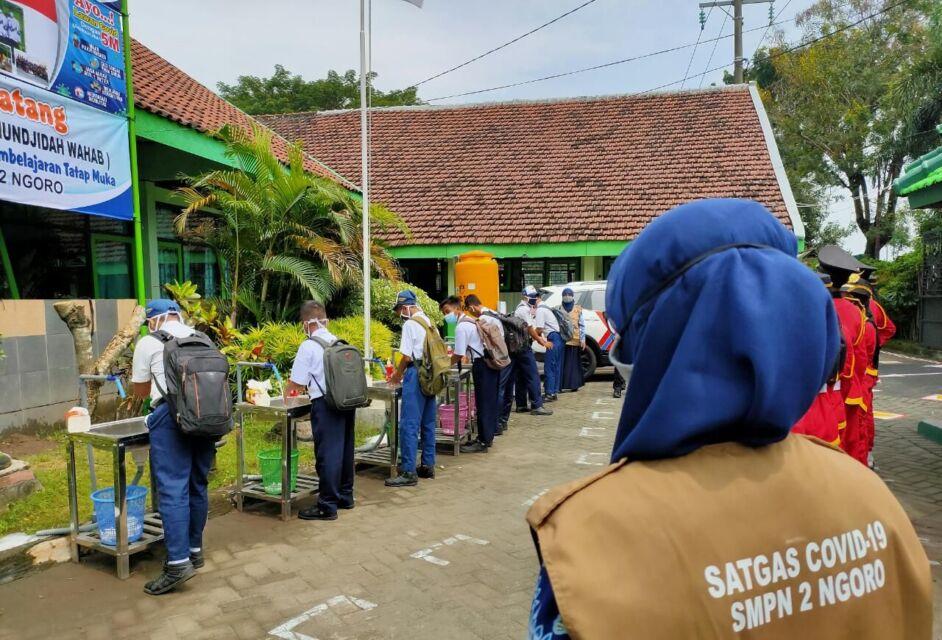 Tren Covid Masih Tinggi, PTM di Jombang Masih Simpang Siur