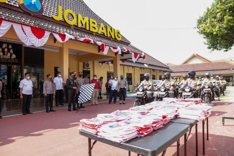 Besok, 1.300 Bendera Merah Putih Siap Berkibar di Seluruh Wilayah Jombang