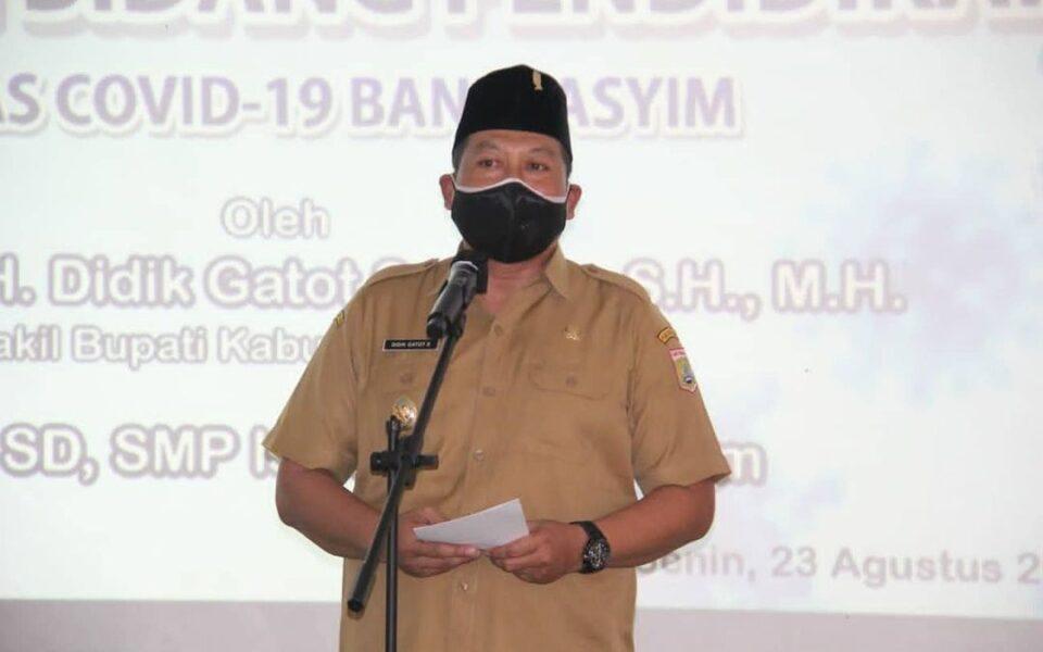 Wabup Apresiasi Yayasan Bani Hasyim Soal Prokes Pendidikan