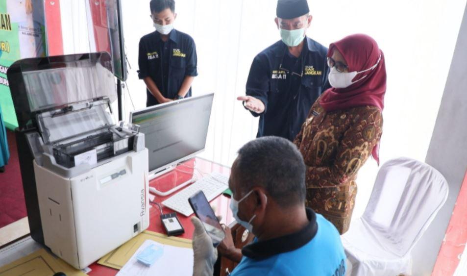 Pemkab Blitar Launching KTP-EL, Permudah Layanan Adminduk Bagi Masyarakat