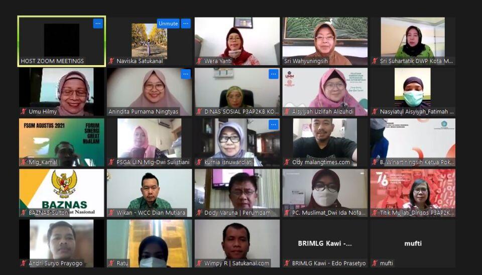 Hadirkan WCC Dian Mutiara, Setda Kota Malang Gelar FGD Bahas Kesetaraan Gender 2021