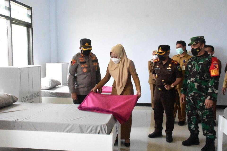 Kabupaten Mojokerto Turun Level 3, Pasien di Lokasi Isoter Tersisa 7 Orang