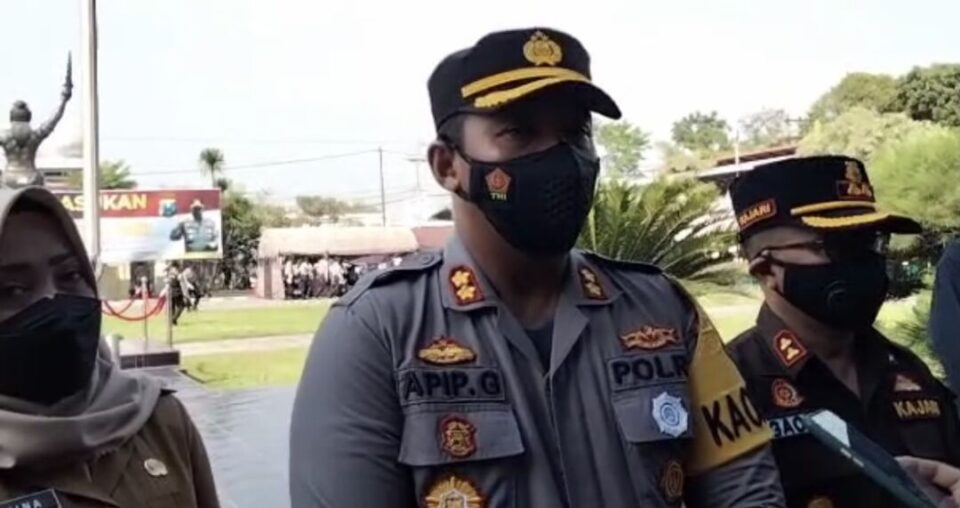 Operasi Patuh Semeru di Mojokerto 2021, Polisi Fokus Penegakan Prokes