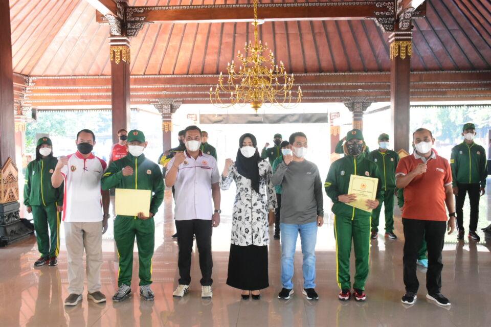 Berlaga di 13 Cabor PON XX Papua 2021, Kabupaten Mojokerto Siapkan 21 Atlet Unggulan