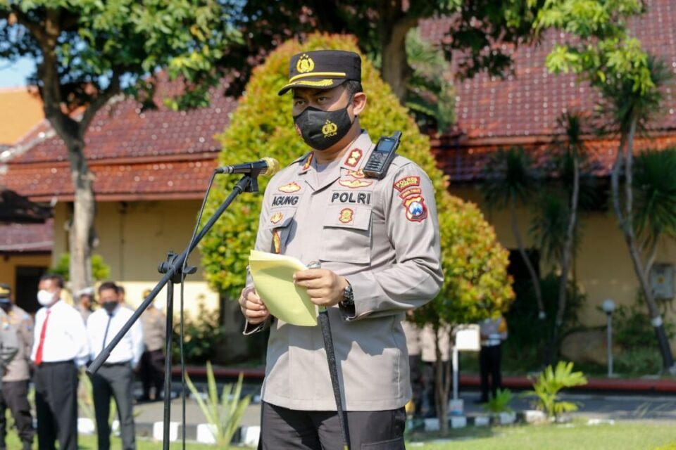 Operasi Patuh Semeru Jombang Sasar Masyarakat Tak Disiplin Prokes