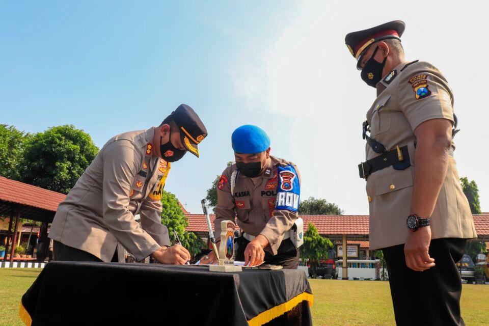 Empat Jabatan Internal Polres Jombang, Dirombak