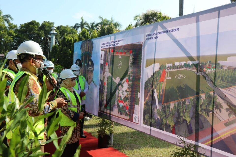 Proyeksi Tempat Baru PKL, Alun-alun Jombang Bersolek Sedot Miliaran Rupiah