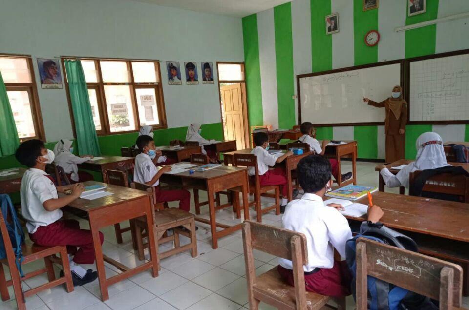 PTM di Jombang Bergulir Kembali, Pendidikan Karakter Jadi Unsur Utama