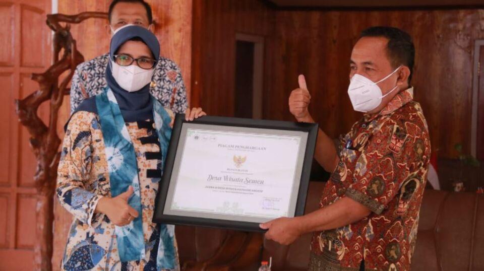 Desa Wisata Semen Blitar Sabet Juara 3 Desa Wisata Awards