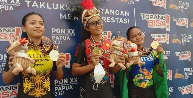 Kontingen Papua Melesat ke Peringkat 1 PON XX Papua 2021