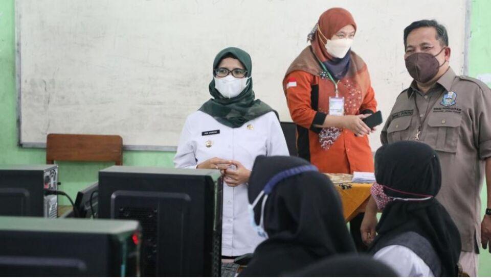 Gelar SKD PPPK Saat Pandemi, Pemkab Blitar Terapkan Prokes Ketat