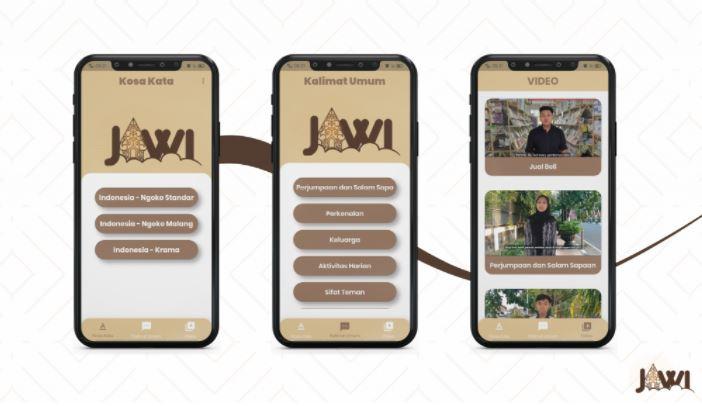 Permudah Komunikasi Mahasiswa Pendatang, 5 Mahasiswa UM Ciptakan Aplikasi Jawi