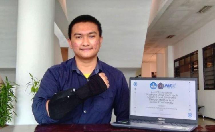 Mahasiswa FK UMM Ciptakan Sarung Tangan Cegah Syarat Terjepit