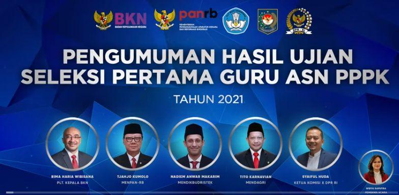 173.329 Peserta Lulus Seleksi Tahap I PPPK Guru 2021, Cek Gurupppk.kemdikbud.go.id