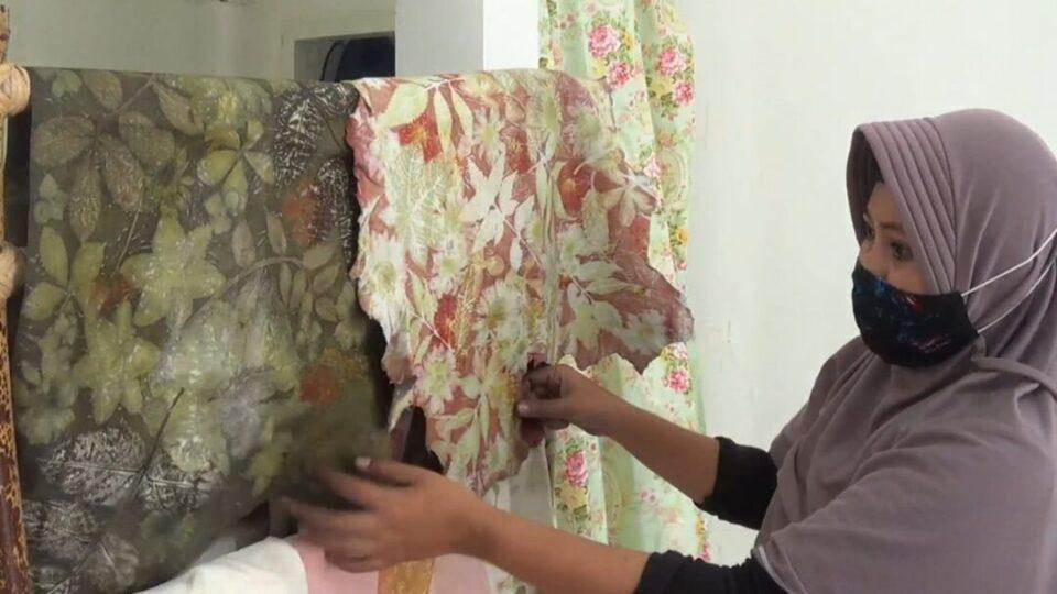Ecoprint, Batik Ramah Lingkungan yang Jadi Peluang Bisnis Warga Kediri