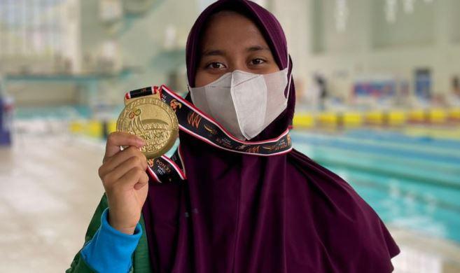 Atlet Selam Asal Kota Batu Sabet Medali Emas PON XX Papua 2021