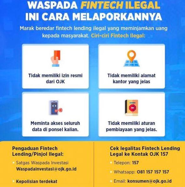 Terbaru! Kominfo dan OJK Blokir 151 Pinjol Ilegal serta 4 Platform Investasi